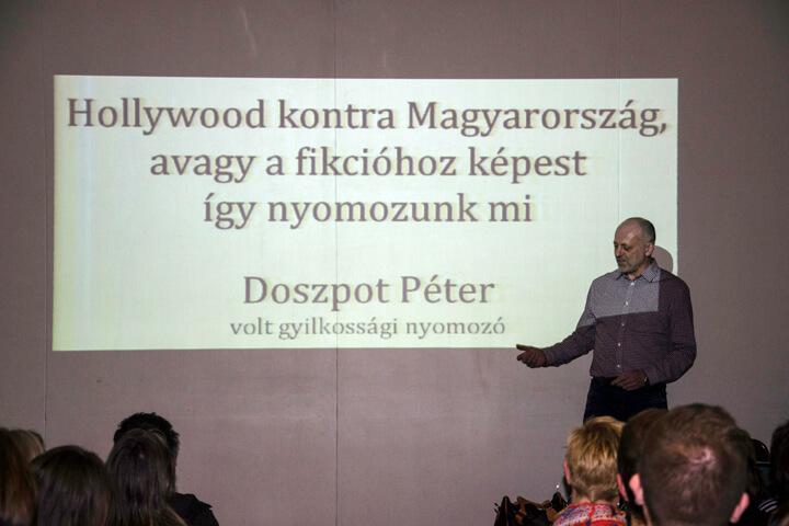 Doszpot Péter 2016-os előadása a TIT Stúdióban