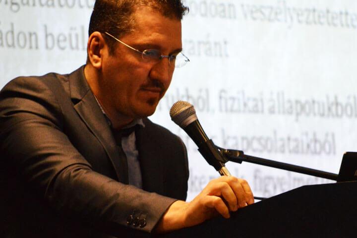 Antal Gábor képviselte a pszichológiai nézőpontot
